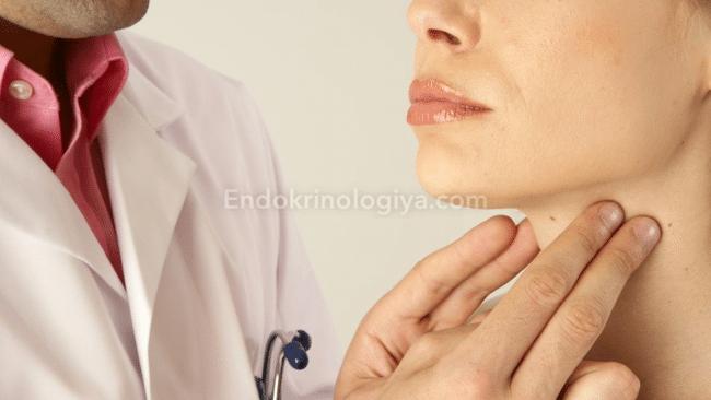 У кого сама рассосалась киста щитовидки