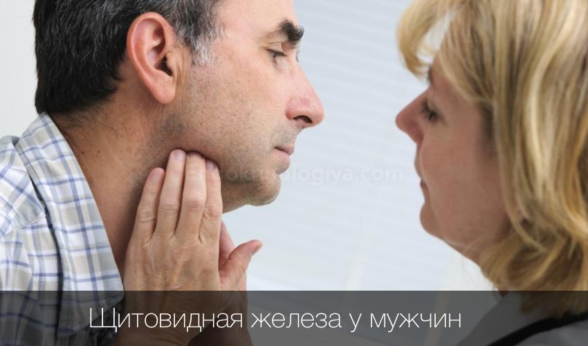 Признаки заболевания щитовидной железы у мужчин симптомы